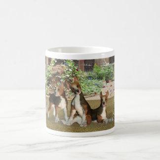 Beagle Puppies Birthday Card Classic White Coffee Mug