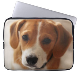 Neoprene Laptop Sleeve 13 inch with Beagle Phone Cases design