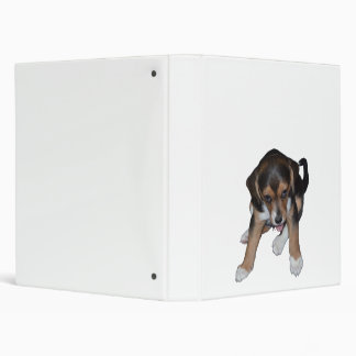 Beagle Puppy Binder