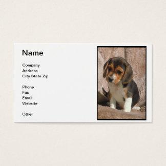Beagle Puppy Business Card