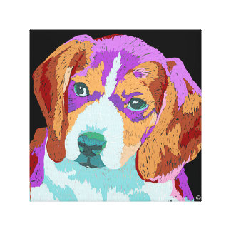 Beagle Puppy canvas