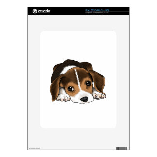 Beagle Puppy Decal For The iPad
