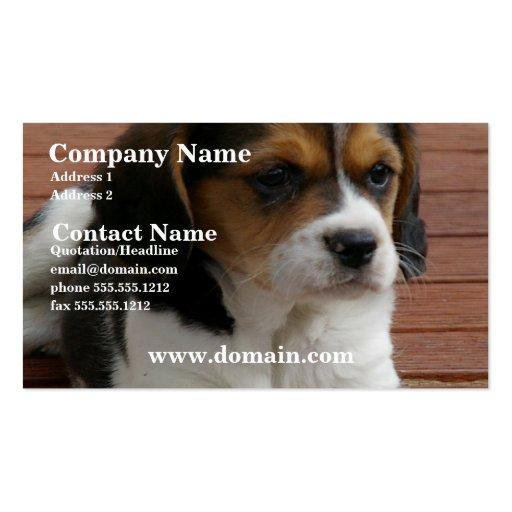 Beagle Puppy Dog Business Card