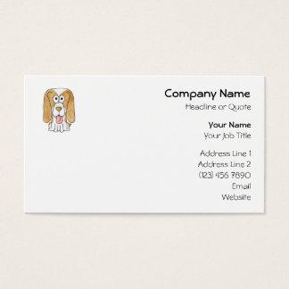 Beagle Puppy Dog. Business Card