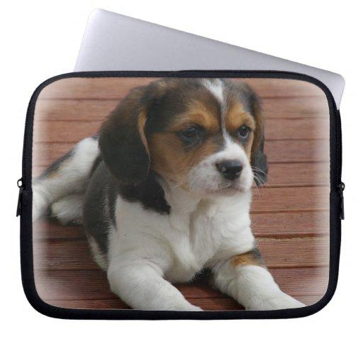 Beagle Puppy Dog Electronics Bag Laptop Computer Sleeves