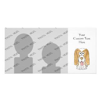 Beagle Puppy Dog. Photo Card Template