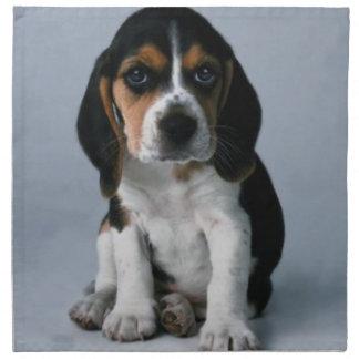 Beagle Puppy Dog Photo Cloth Napkin