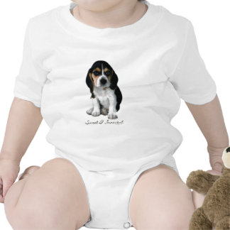 Beagle Puppy Dog Photograph T Shirt