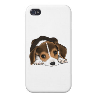 Beagle Puppy iPhone 4/4S Cover