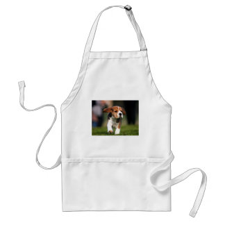 Beagle Puppy Love Adult Apron