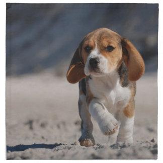 Beagle puppy napkin
