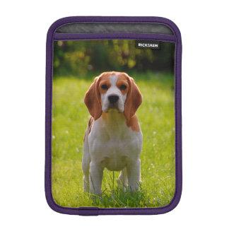 beagle puppy on guard iPad mini sleeve