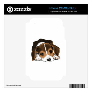 Beagle Puppy Skin For iPhone 3GS