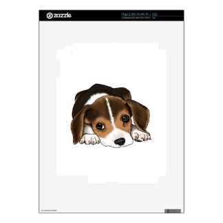 Beagle Puppy Skin For The iPad 2