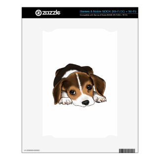 Beagle Puppy Skins For The NOOK