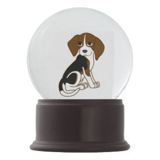 Beagle Puppy Snow Globe