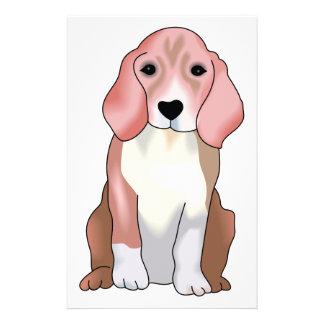 Beagle Puppy Stationery