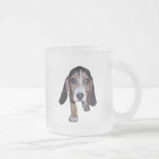 Beagle Puppy Walking - Front View Coffee Mug