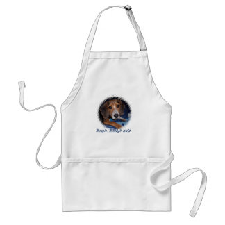 Beagle Puppy with Attitude Aprons