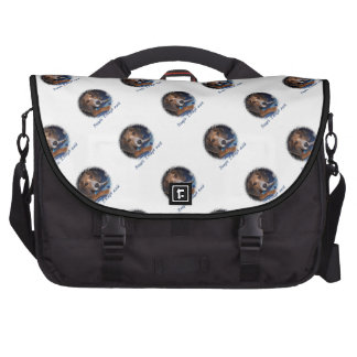 Beagle Puppy With Attitude - Custom Background Bags For Laptop