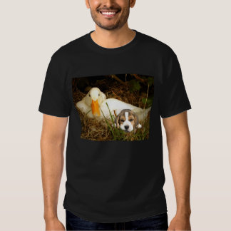 Beagle Puppy With Duck Unisex T-Shirt