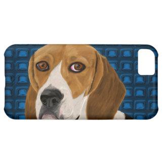 Beagle que mira fijamente directamente usted - pin carcasa para iPhone 5C