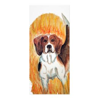 Beagle Rack Card