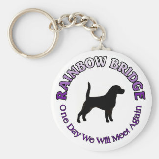 BEAGLE RAINBOW BRIDGE SYMPATHY KEYCHAI KEY CHAIN