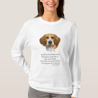 Beagle Rainbow Bridge T-Shirt