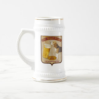 Beagle real jarra de cerveza