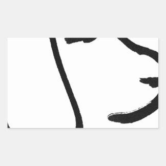Beagle Rectangular Sticker