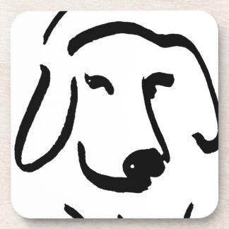 Beagle resuelto posavaso