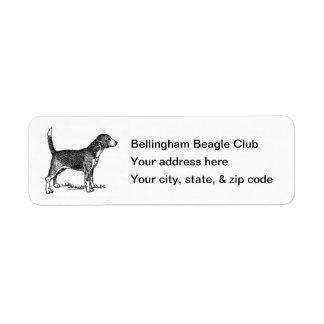 Beagle Return Label