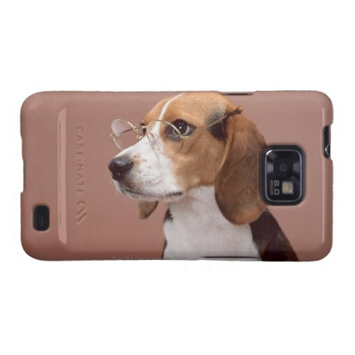 Beagle Samsung Galaxy S2 Funda