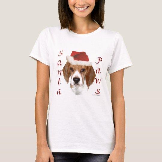 Beagle Santa Paws T-Shirt