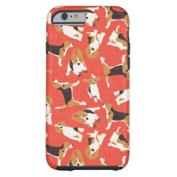 Case-Mate Barely There iPhone 6 Case with Beagle Phone Cases design