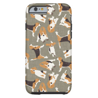 beagle scatter stone tough iPhone 6 case