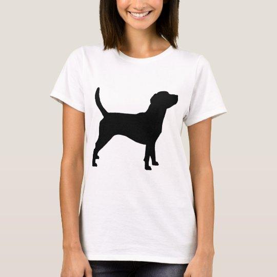 Beagle Silhouette (in black) T-Shirt