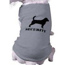 Beagle Silhouette with Custom Text Shirt