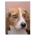 Beagle Spiral Note Book