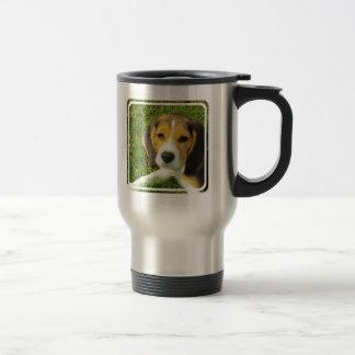 Beagle Stainless Travel Mug