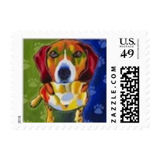 beagle stamp
