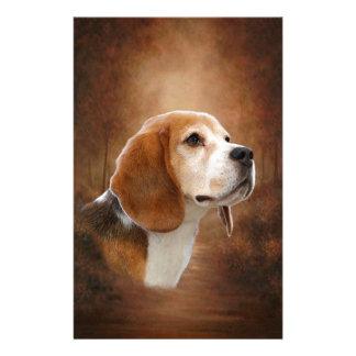 Beagle Custom Stationery