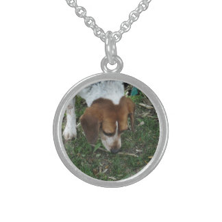 Beagle Sterling Silver Necklace