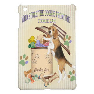 Beagle Stole The Cookie From The Cookie Jar iPad Mini Cover