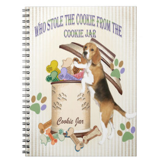 Beagle Stole The Cookie From The Cookie Jar Notebook