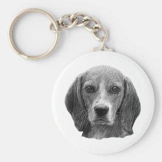 Beagle - Stylized Image Keychain