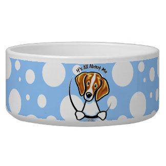 Beagle su todo alrededor yo IAAM Comedero Para Mascota