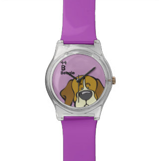 Beagle - The Dog Table Wrist Watches