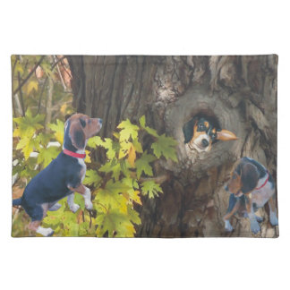 Beagle Tree House Placemat